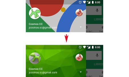 Cómo cambiar la foto de perfil y de fondo del menú de las aplicaciones de Google