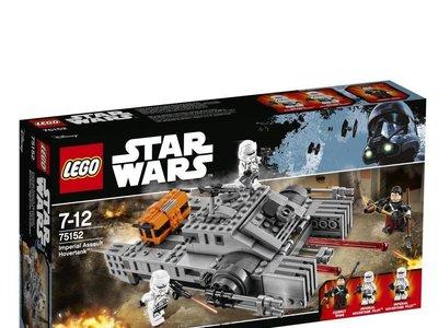 El set de Lego Star Wars: Figura Imperial Assault Hovertank está rebajado a 14,99 euros en Amazon