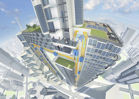 MULTI, el elevador horizontal que busca adaptarse  a las construcciones del futuro