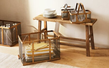 Las cestas mas deseadas de esta temporada para mantener el orden en la cocina están en Zara Home