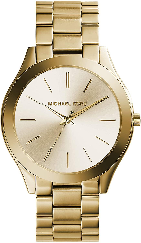 Reloj de acero inoxidable de Michael Kors