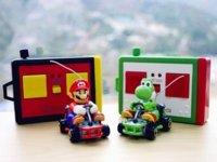 Mini Mario Kart, el fontanero a radiocontrol