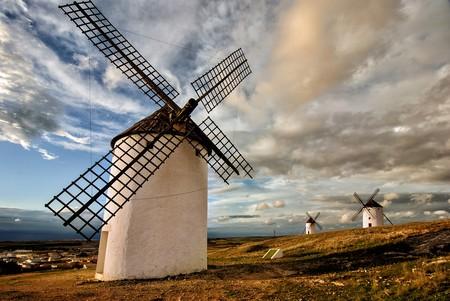 La ruta de los molinos de Castilla-La Mancha