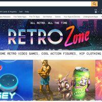 Amazon estrena 'Retro Zone' su nueva sección dedicada al mundo de los juegos retro