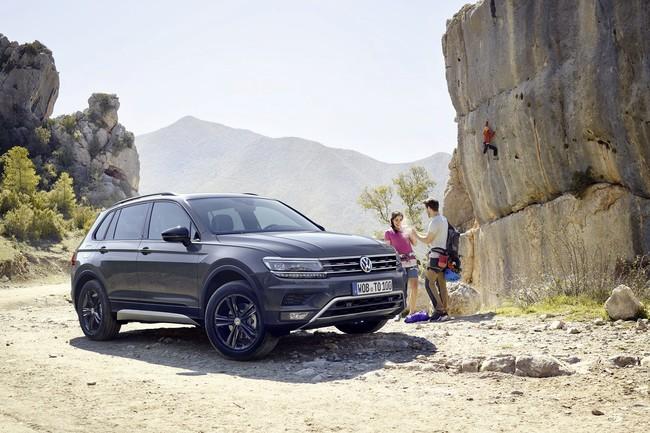 El Volkswagen Tiguan Offroad es el coche más aventurero de la familia SUV y cuesta 38.900 euros