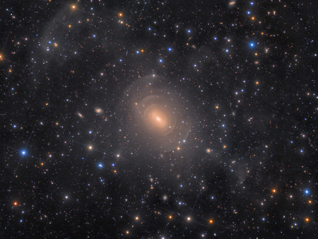 Shells Of Elliptical Galaxy Ngc 3923 In Hydra R Rolf Wahl Olsen