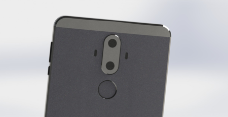 Supuestos renders del Huawei Mate 9 se filtran y muestran doble cámara trasera