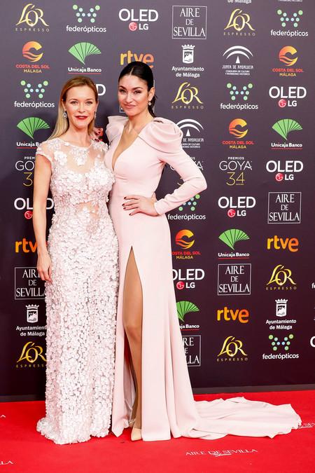 Celia Flores And Actress Maria Esteve