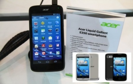 Acer Liquid Gallant renueva la gama de entrada Androide de Acer