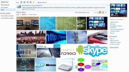 SkyDrive dará alojamiento ilimitado para fotos y documentos de Office