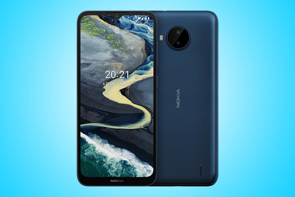 Nokia C20 Plus: Android™ once Go, gran batería y un costo muy reducido