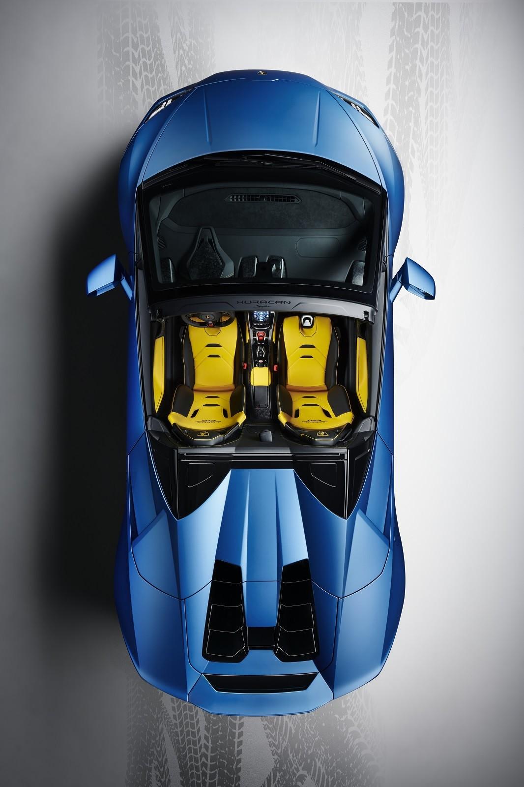 Foto de Lamborghini Huracan EVO Spyder RWD (11/14)