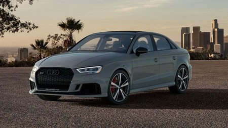 Audi RS3 Nardo Edition: 200 unidades, 280 km/h de punta y los mismos 400 CV (aunque sólo para EEUU)