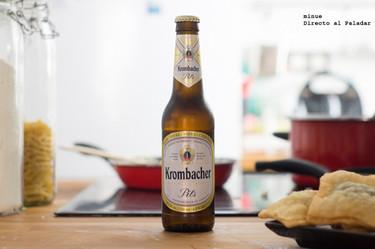 Krombacher Pils. Cata de cerveza