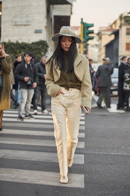 street style como combinar un sombrero