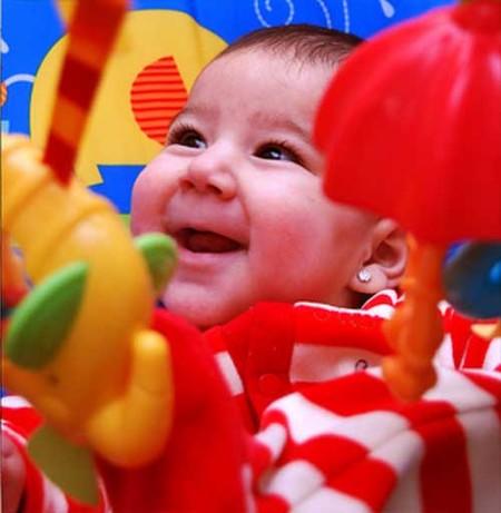 La foto de tu bebé: la simpatía de Marta