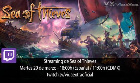 Streaming de Sea of Thieves a las 18:00h (las 11:00h en Ciudad de México) [finalizado]