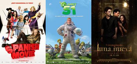 Taquilla española   'Spanish Movie' y 'Planet 51', el cine español se pone en cabeza