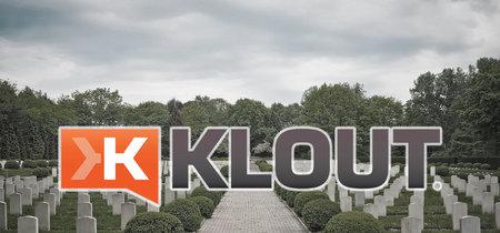 Klout, el olvidado medidor de influencia en redes sociales, morirá el 25 de mayo