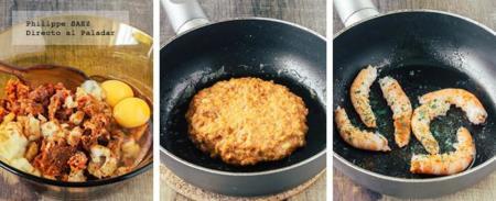 Hamburguesa Chorizo Camaron 2