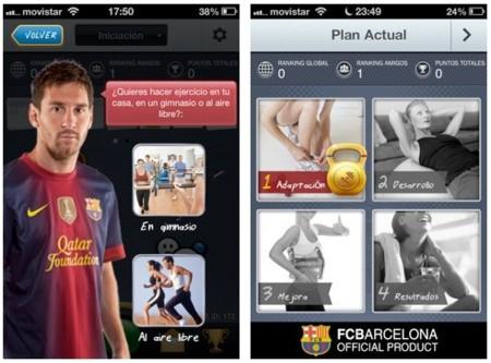 FCB Fitness cuatro fases