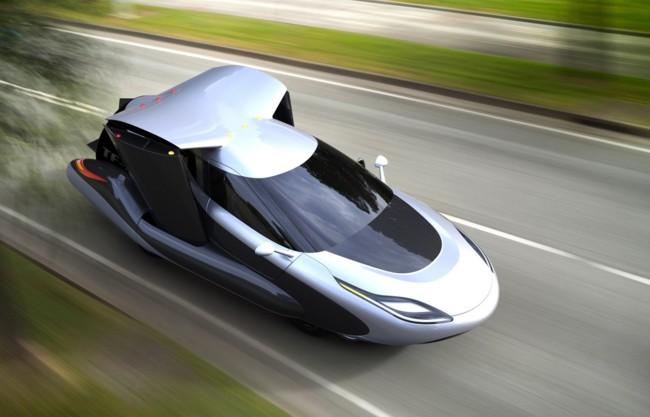 El coche volador de Terrafugia quiere ser el futuro del transporte