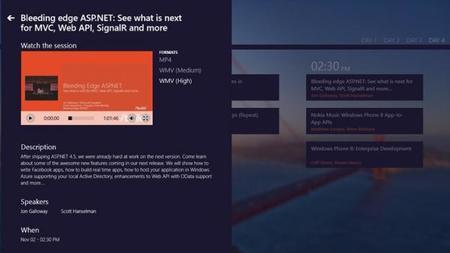 Presentación de Windows 8.1 en directo desde Modern UI / Metro con //Build