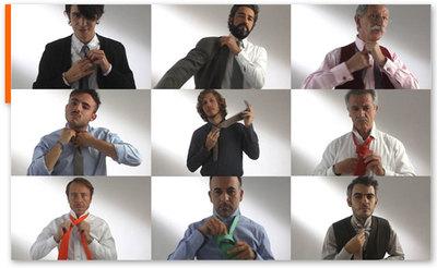 Tie break: Hermès te enseña cómo hacer el nudo de corbata simple, doble, windsor y pajarita