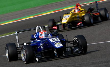Ed Jones Spa-Francorchamps F3 UK 2014