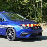 La Gendarmerie elige al SEAT León CUPRA como coche policía de intercepción rápida en autopistas