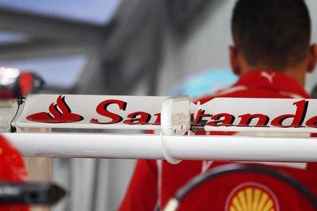 El Santander amplía su compromiso con Ferrari