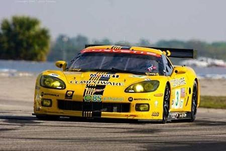 ¡Antonio García con Compuware Corvette en ALMS y Le Mans!