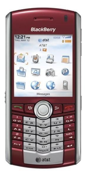 BalckBerry Pearl grana, oficial