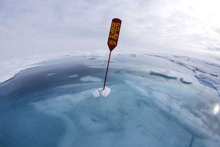 Spoty Winner Climate Change North Pole Under Water By Sue Flood Frps