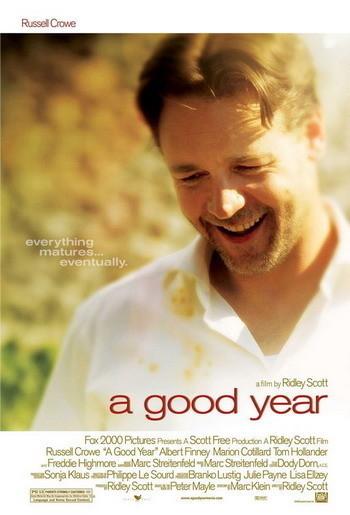 Póster de 'A Good Year' de Ridley Scott