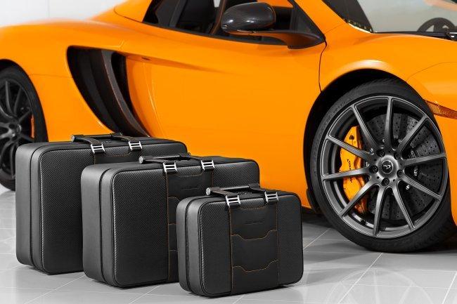 Accesorios McLaren, equipaje especial MP4-12C