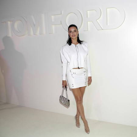 tom ford desfile ss 2019 frontrow adriana lima