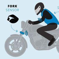 Este airbag inalámbrico será aún más seguro gracias a un sensor instalado en la moto que llegará en 2020