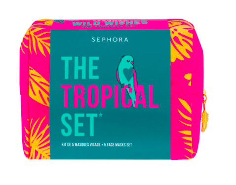 The Tropical Set* Wild Wishes Estuche 5 Mascarillas Faciales