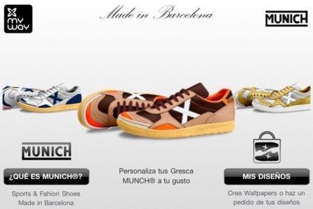 Aplicación Munich My Way para personalizar tus zapas