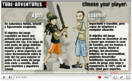Tube Adventures 3, o cómo convertir YouTube en un juego de aventuras interactivo