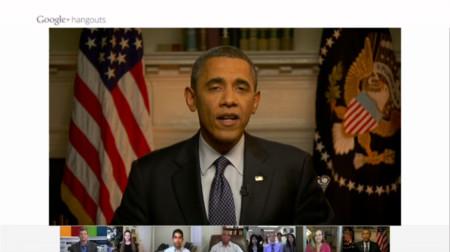 Obama En Hangout