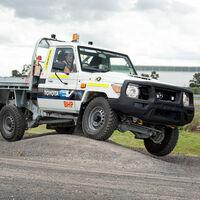 Ya hay un Toyota Land Cruiser eléctrico, aunque es un prototipo para trabajar en minas bajo tierra