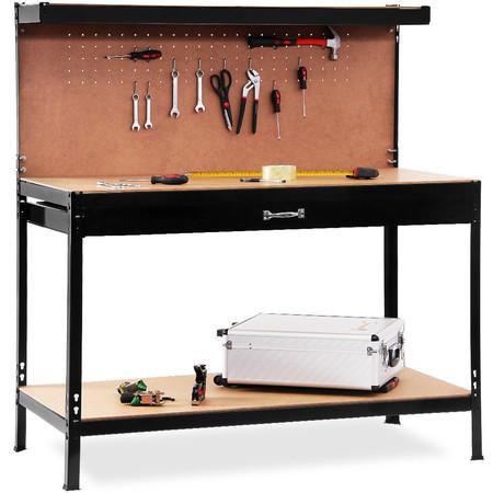 Ideal para el garaje: banco de herramientas con cajón por 59,99 euros con envío gratis en eBay