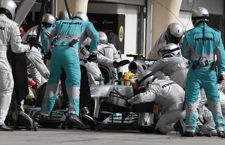 Gerhard Berger ve a Lewis Hamilton y a Nico Rosberg al mismo nivel
