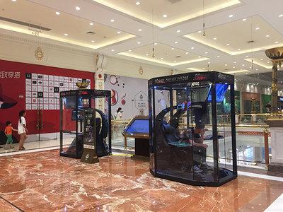 Centro comercial de China abre cápsulas para que los hombres descansen mientras sus parejas están de compras