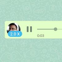WhatsApp permitirá reproducir las notas de voz en tres velocidades: así será su nueva interfaz