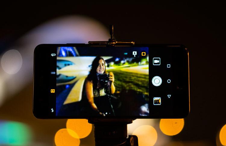 Huawei P10 Plus, selfie