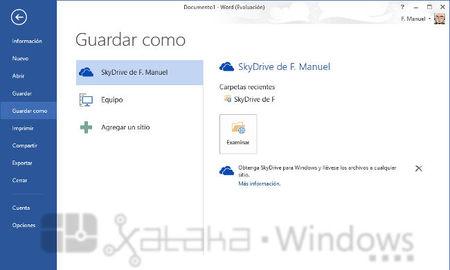 Microsoft Word 2013. A fondo (parte 1, las nuevas pantallas estilo ...
