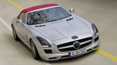 Primeras imágenes oficiales del Mercedes-Benz SLS AMG Roadster